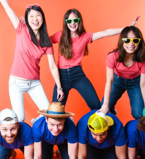 La team blue